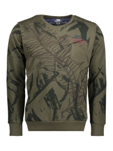 76128 gabbiano sweater army