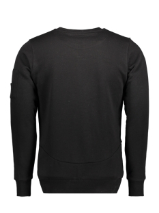76109 gabbiano sweater zwart