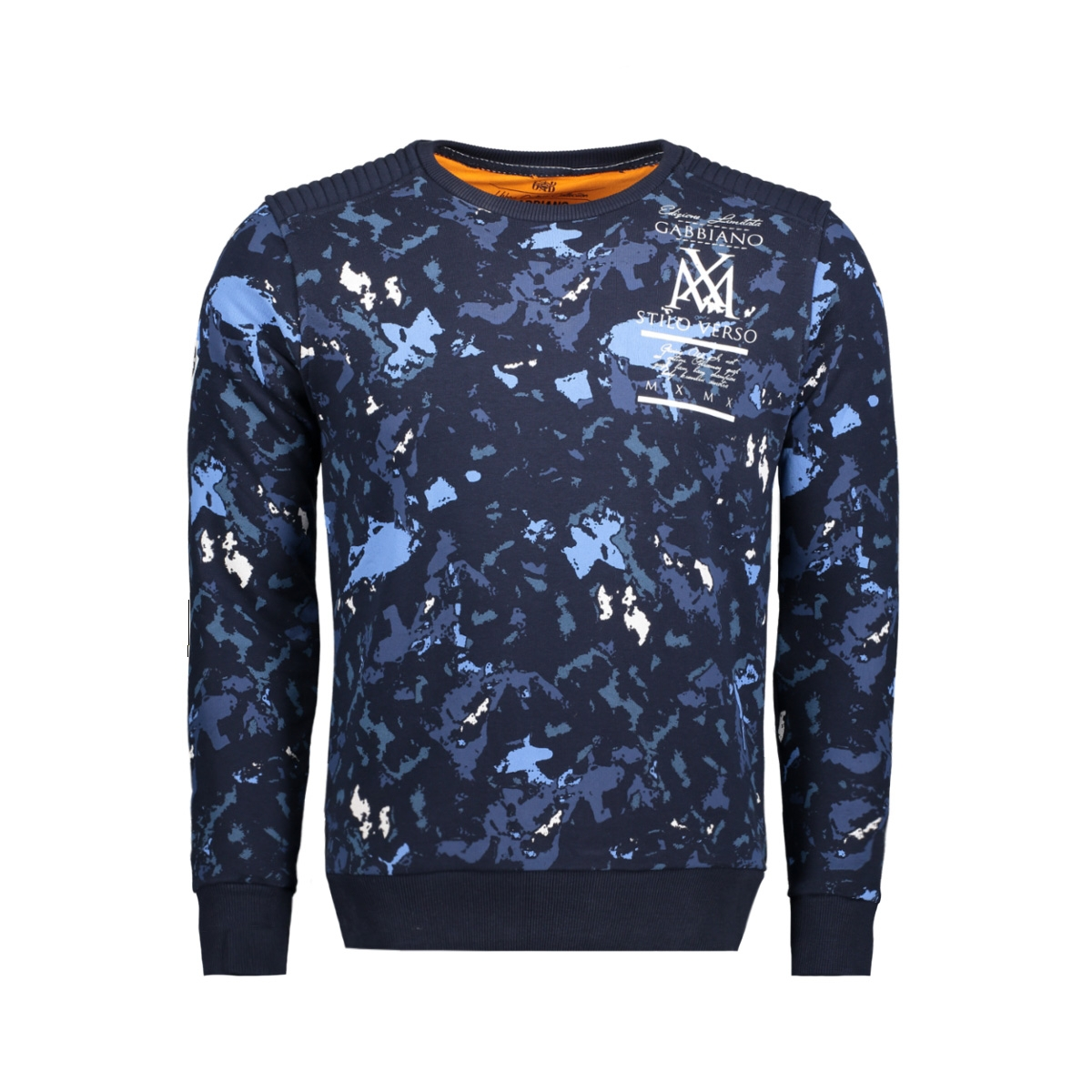 76114 gabbiano sweater navy