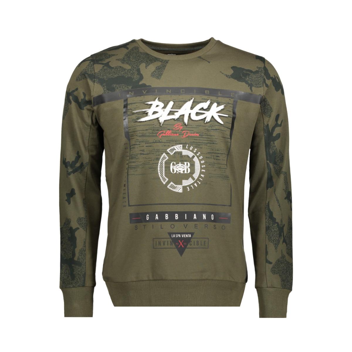76104 gabbiano sweater army