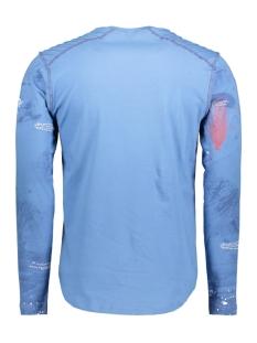 13848 gabbiano t-shirt blauw