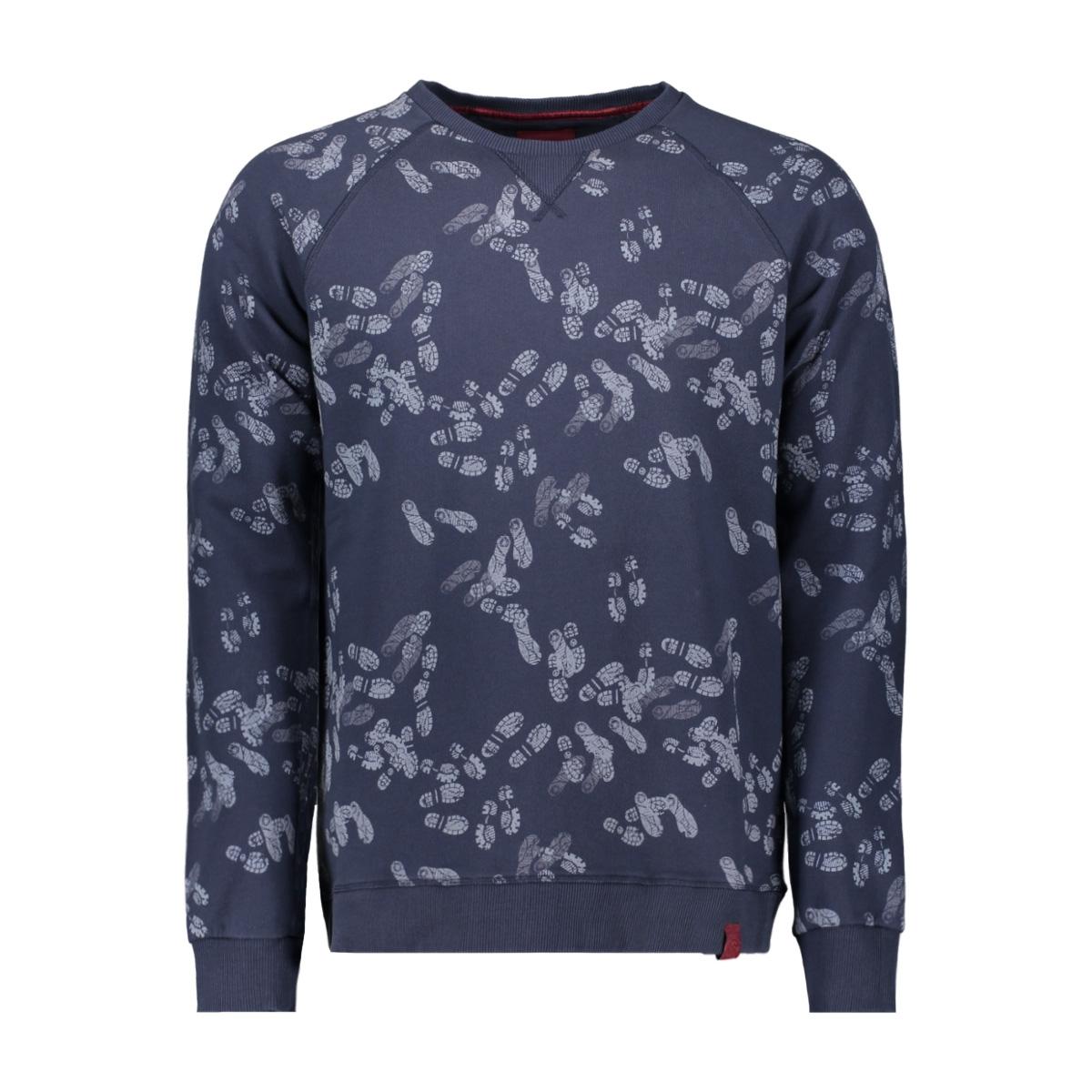 swt001 companeros sweater 02navy