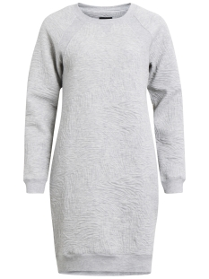 Object Jurk OBJBELLA SWEAT DRESS 94 2302572 Light grey melange