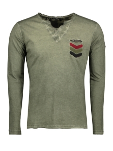 Key Largo T-shirt MLS00020 GUN 1502 MIL GREEN