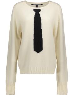 20-611-7103 10 days trui white wool