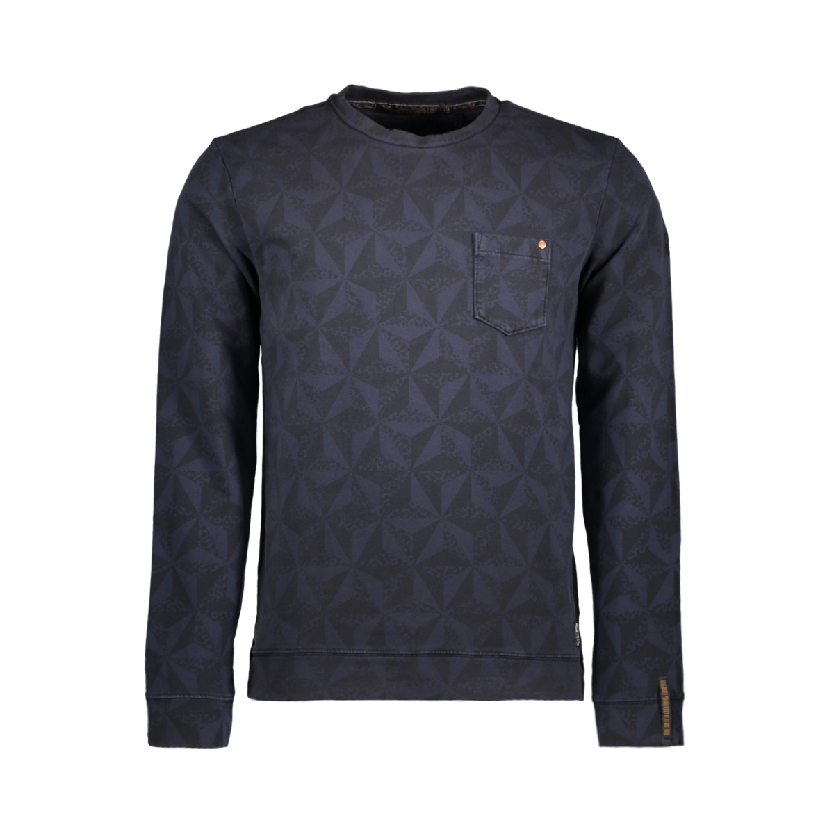 82110901 no-excess sweater shadow blue