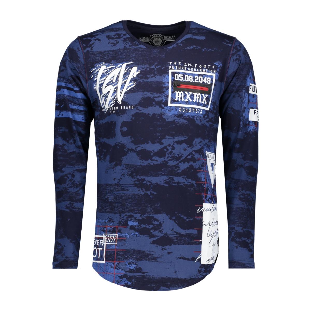 13849 gabbiano t-shirt navy