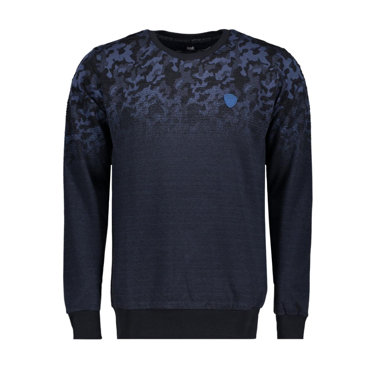 76122 gabbiano sweater navy