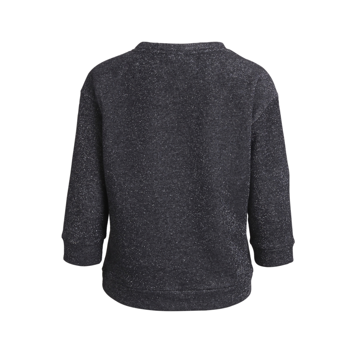 objglitter 3/4 pullover apb 23026445 object sweater black