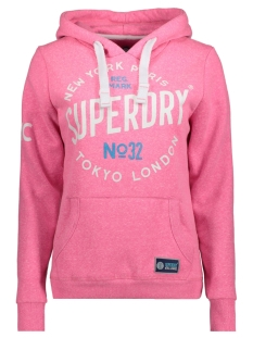 Superdry Sweater G20000FP CITY OF DREAMS AS1 PINK