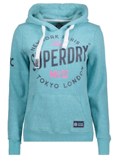 Superdry Sweater G20000FP CITY OF DREAMS VB0 AQUA