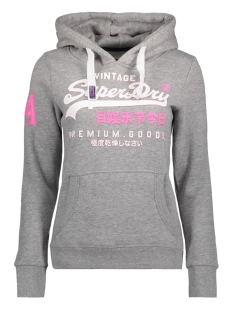 Superdry Sweater G20013HP DUO HOOD HVJ GREY