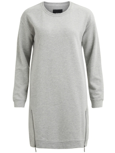 Object Jurk OBJIDA SWEAT DRESS 94 23025726 Light Grey Melange