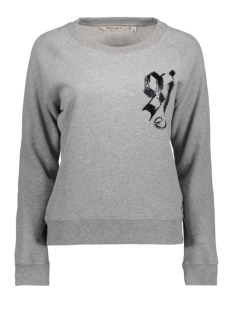 Garcia Sweater G70060 66 Grey Melee