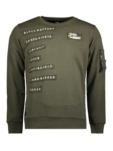 Gabbiano sweater 76109 ARMY