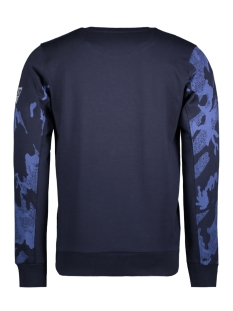 76104 gabbiano sweater navy