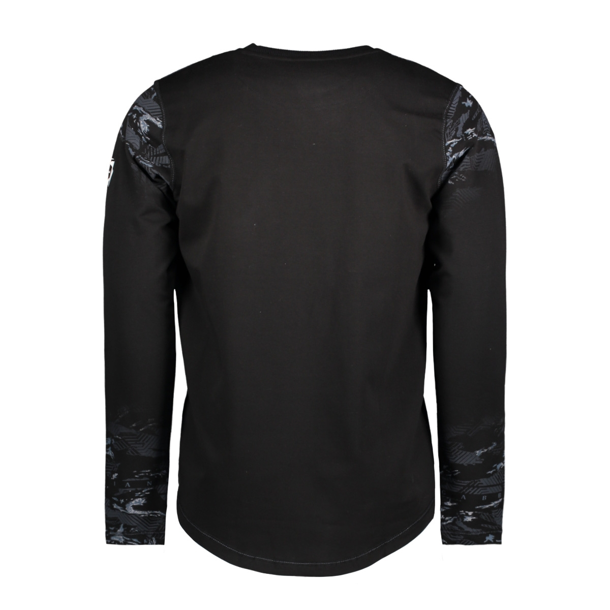 76139 gabbiano t-shirt black