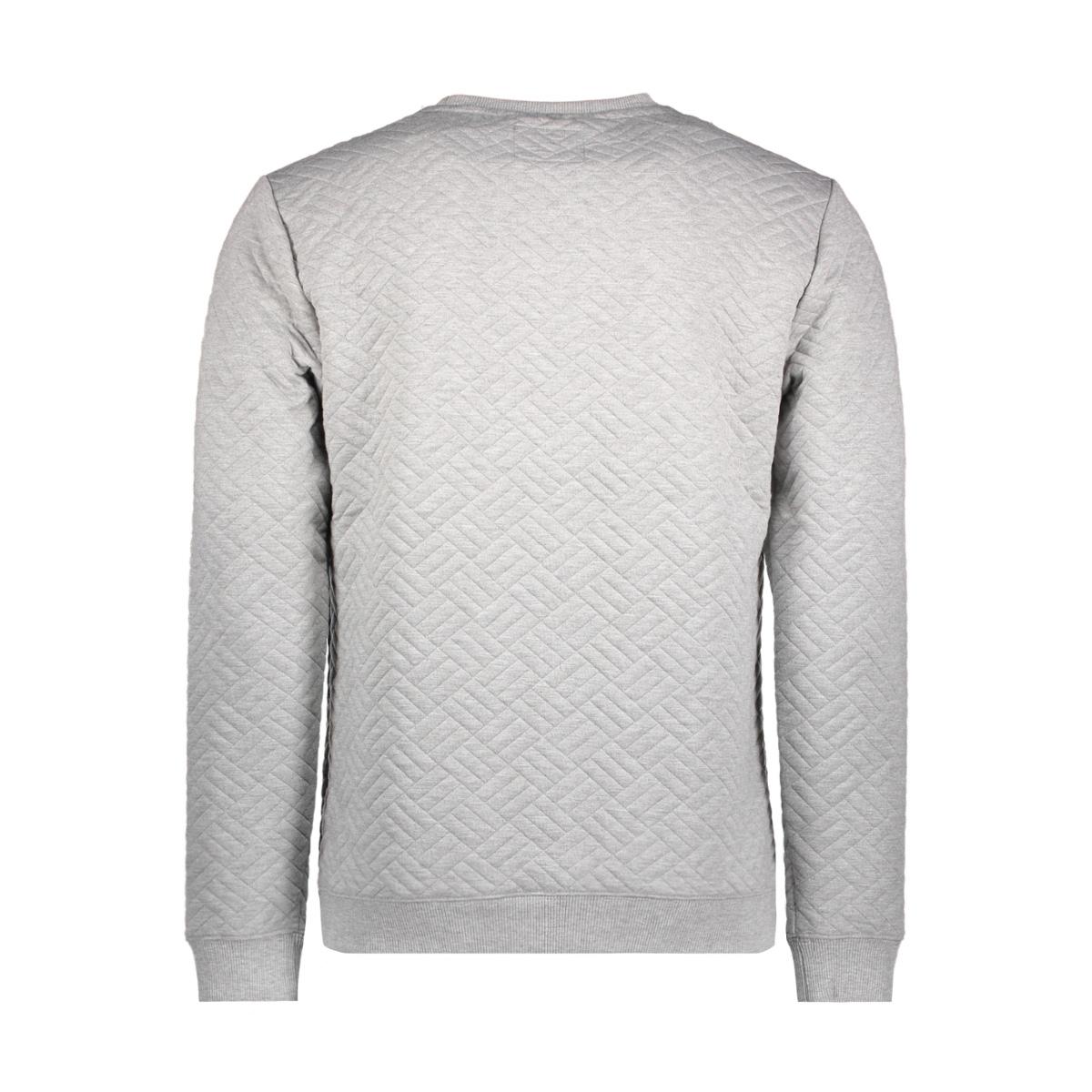 82100708 no-excess sweater 102 grey melange