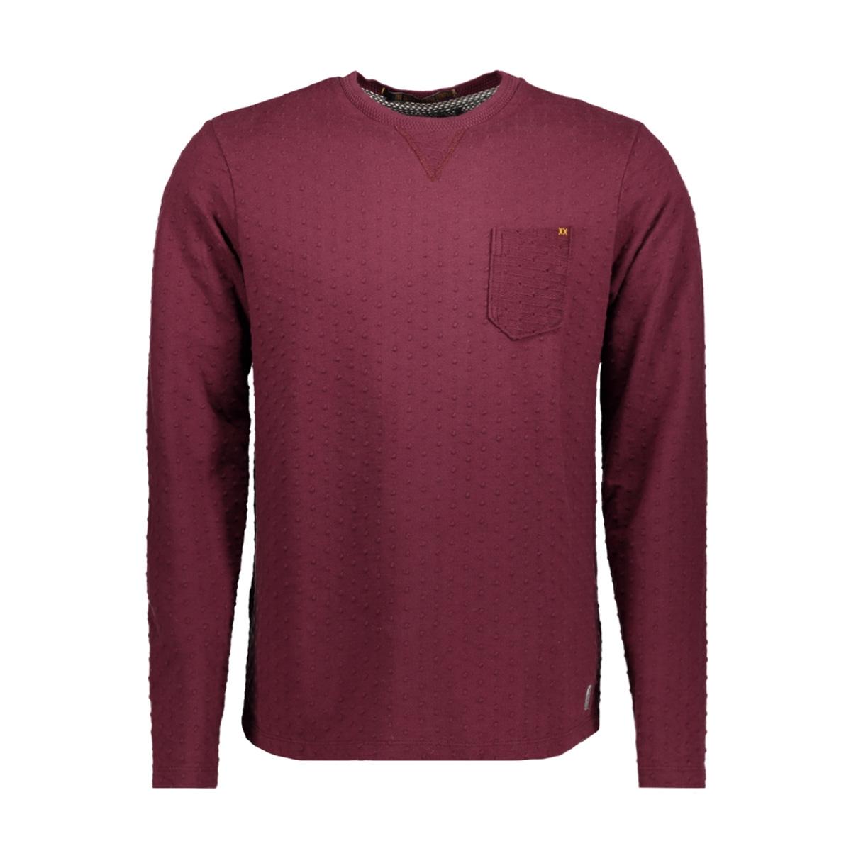 82110952 no-excess sweater 083 aubergine