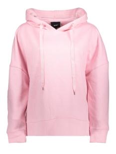 Object Sweater OBJNIKI L/S SWEAT HOOD PULLOVER PB3 23026108 Pink Nectar
