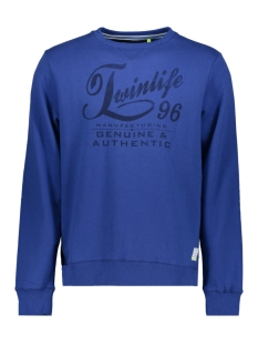 Twinlife Sweater MSW751451 6677 Deep Blue