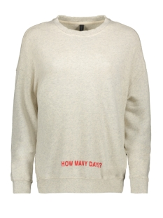 10 Days Sweater 20-800-8103 WHITE WOOL MELEE