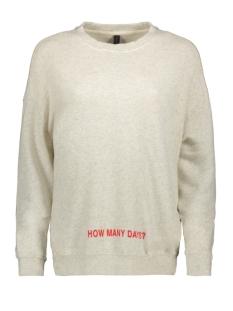 10 Days sweater 20-800-8103 WHITE WOOL MELEE