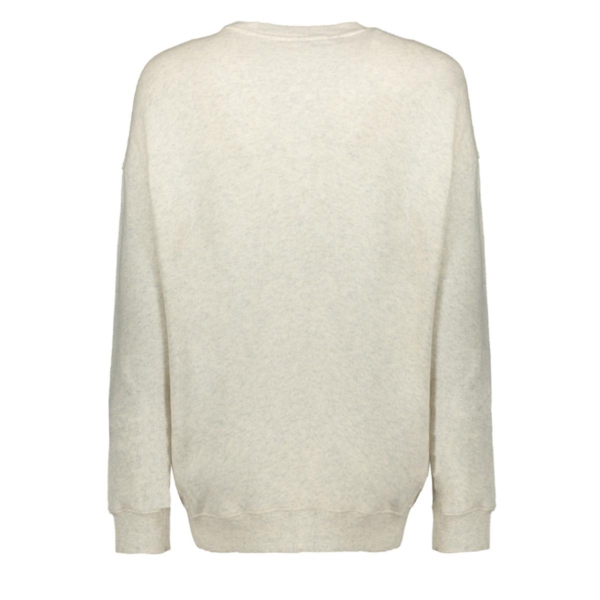208008103 10 days sweater white wool melee