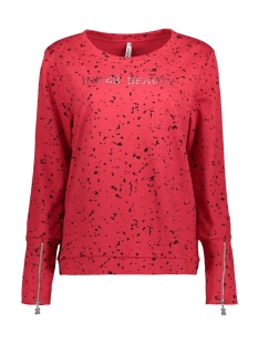 Zoso Sweater INNER SPORTY SWEATER RED/BLACK