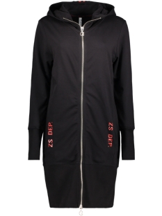 Zoso Vest HOODY SPORTY BLACK/RED