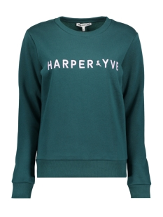 Harper & Yve sweater FW18S500 Bottle Green