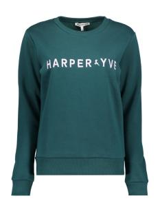 Harper & Yve sweater FW18S500 Bottle Green