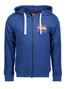 Jack & Jones Vest JORSTEN SWEAT ZIP HOOD 12144355 Estate Blue/SLIM