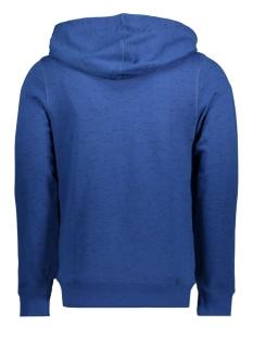jorsten sweat zip hood 12144355 jack & jones vest estate blue/slim
