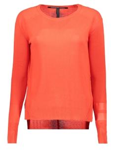 10 Days T-shirt 20 600 8104 DARK FLUOR RED