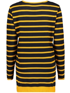 wendy striped sweater zoso trui navy/oker