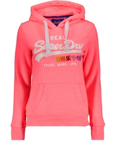 g20406nr superdry sweater neon pink snowy