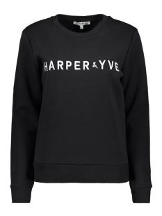 fw18s500 harper & yve sweater black