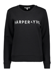 Harper & Yve sweater FW18S500 BLACK