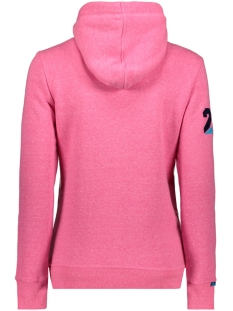 g20009fqds superdry sweater fluro pink snowy