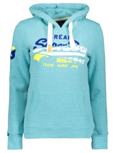 Superdry sweater G20009FQDS AQUAMARINE SNOWY