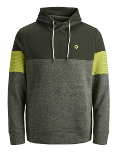 jcomart sweat hood 12156791 jack & jones sweater rosin/reg