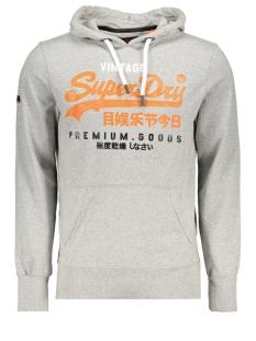 m20057tr superdry sweater varsity grey grit