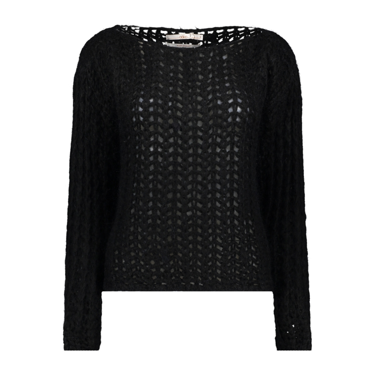 massy moh sweater 300 aaiko trui black