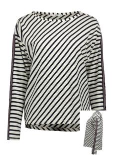 EDC sweater SWEATSHIRT MET GEWEVEN SIERBANDJE 029CC1J002 C110