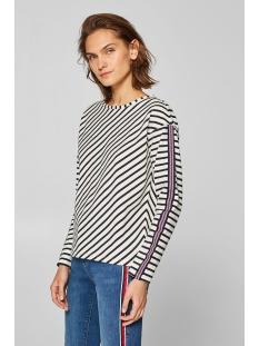 sweatshirt met geweven sierbandje 029cc1j002 edc sweater c110