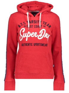 Superdry sweater G20107TT RICH SCARLET