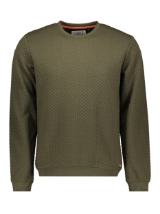 90100110 no-excess sweater 059 dk army