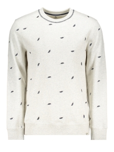 Garcia sweater B91264 625 White Melee