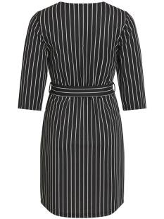 objscarlett 2/4 dress 102 23028856 object jurk black/black w. s